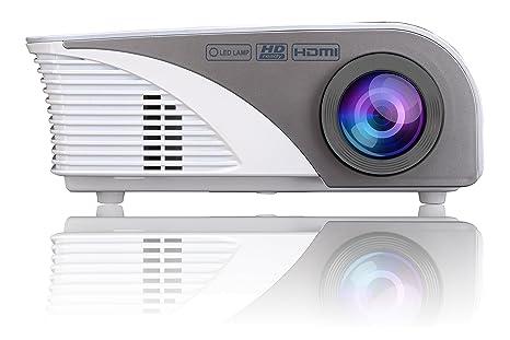 Salora bhd vidéoprojecteur portable ansi lumens led gris