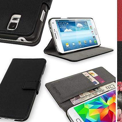 iGadgitz Premium Wallet Flip Black PU Leather Case Cover for Samsung Galaxy  S5 MINI SM- ec65289b229