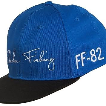 Fladen Pesca ff-82 Azul Gorra de béisbol con Negro Soporte de Pico - excelente Sol protección contra la Intemperie Mientras se Pesca [22 - 1834b]: ...