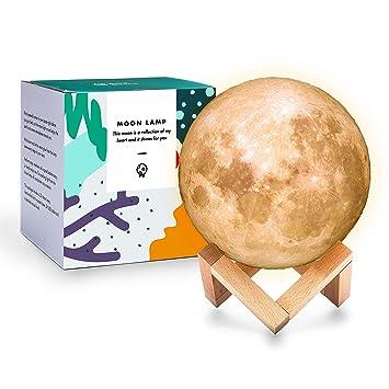 Amazon.com: Beta Becca minimalista lámpara de Luna Llena ...