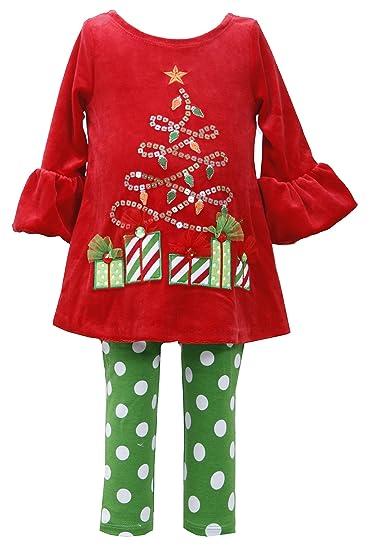 Bonnie Baby Allison Ann Velour First Christmas Tree Outfit (6m-18m) (18 - Amazon.com: Bonnie Baby Allison Ann Velour First Christmas Tree