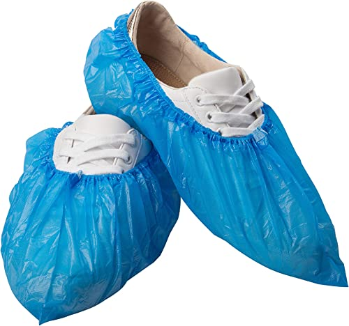 Disposable 500 Pack Shoe Covers Hygienic Boot Cover for Workplace, Indoor Carpet