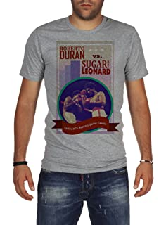 Palalula Mens Boxing Fight Roberto Duran vs Sugar Ray Leonard T-Shirt