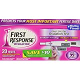 Amazon Price History for:First Response Digital Ovulation - 20 tests -1month supply-