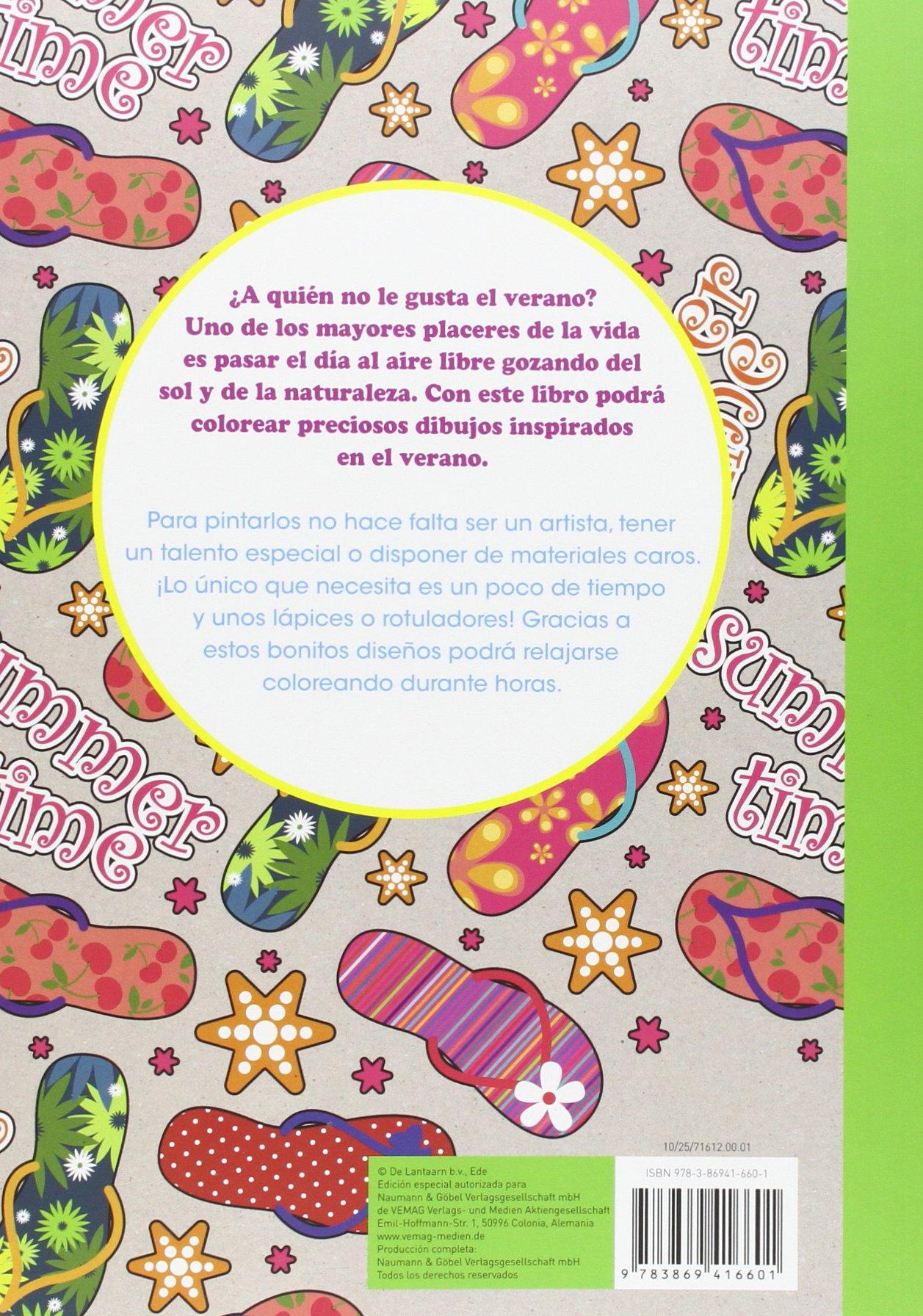 Los colores del verano: Pintar para relajarse: VV.AA.: 9783869416601: Amazon.com: Books