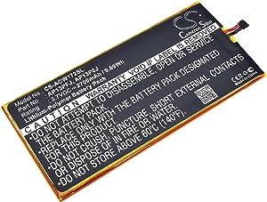 2700mAh Replacement for Acer Iconia B1-720-L804, Iconia B1-720-L864 Battery, P/N AP13P8J, AP13P8J(1ICP4/58/102), AP13PFJ