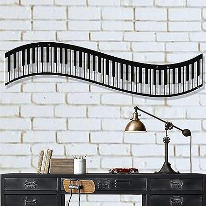 Amazon.com: DEKADRON Metal Wall Art, Metal Piano Wall Art ...