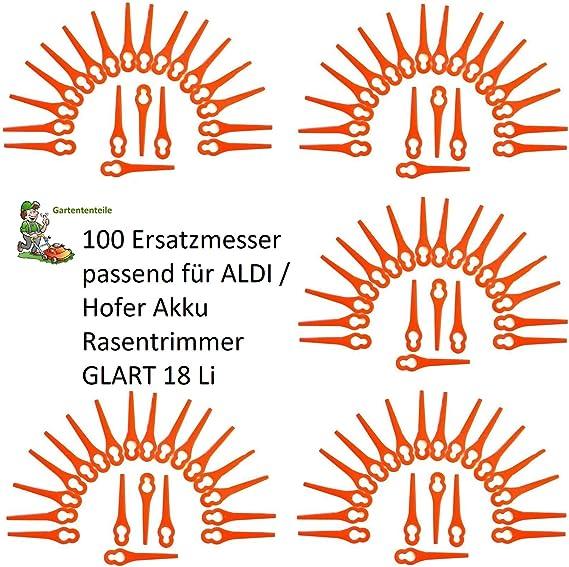 100 Plástico Cuchillo/Cuchillo/plotter Fichas/cuchilla de repuesto ...