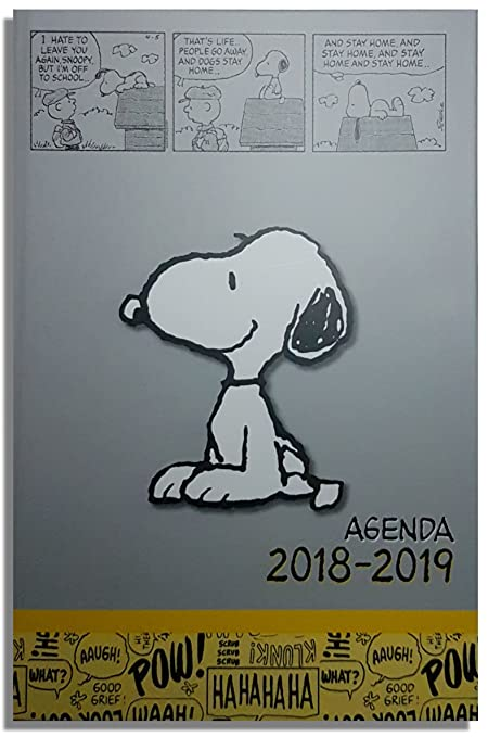 Agenda escolar Snoopy 12 x 17 cm 1 día/página septiembre ...