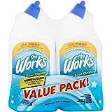 The Works Disinfectant Toilet Bowl Cleaner Value Pack 64 fl oz (2)