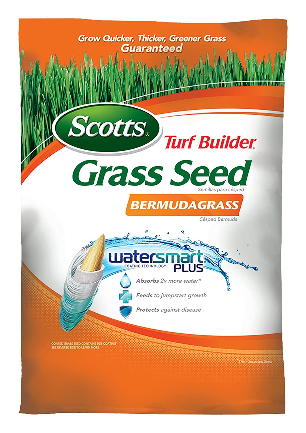 Best way to plant grass seed - Amazon Com Scotts Turf Builder Grass Seed Bermudagrass 15 Pound Sold In Select Southern States Patio Lawn Garden