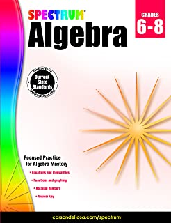 Algebra essentials practice workbook with answers linear spectrum algebra fandeluxe Choice Image