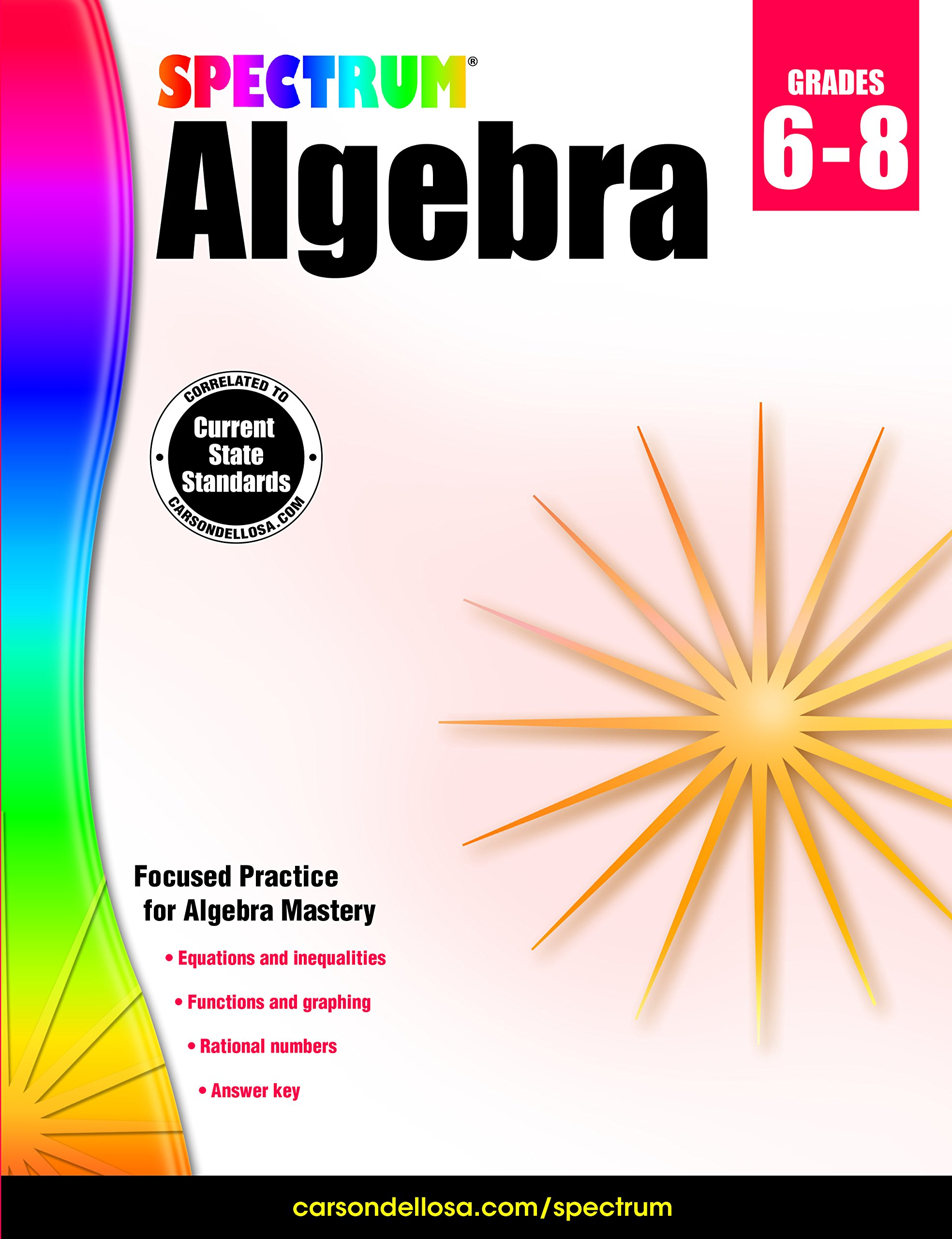 amazon com spectrum algebra 9781483816647 spectrum books