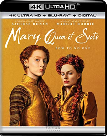 Amazoncom Mary Queen Of Scots 2018 Blu Ray Saoirse Ronan