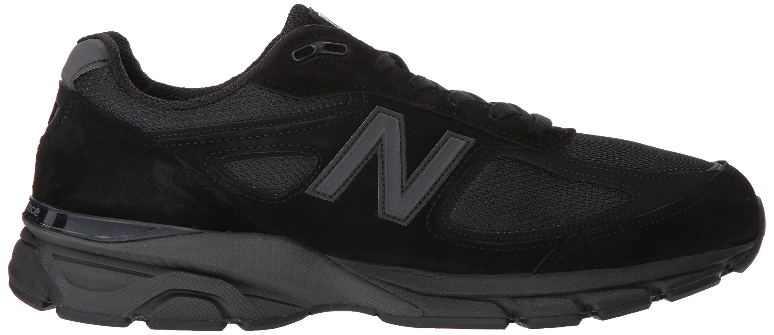 New Balance Men's 990V4 Running Shoe, Black/Black, 11 2E US by New Balance (Image #7)