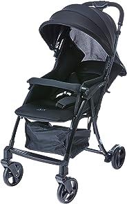 Carrinho de Bebê Air, Burigotto, Preto, Até 15 kg