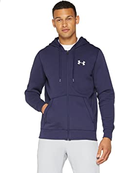 Under Armour Rival Fitted Full Zip Sudadera, Hombre: UNDER ARMOUR ...