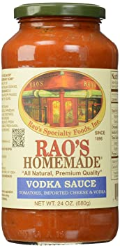Review Rao's Vodka Sauce, 24