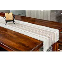 Modern Farmhouse Style Home Decor | Table Runners 72 inches Long & 36 inch Short Table Runner - Red, Green, Beige, White…