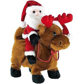 Playtastic Weihnachts: Weihnachtsmann Salto Claus mit Rentier ...