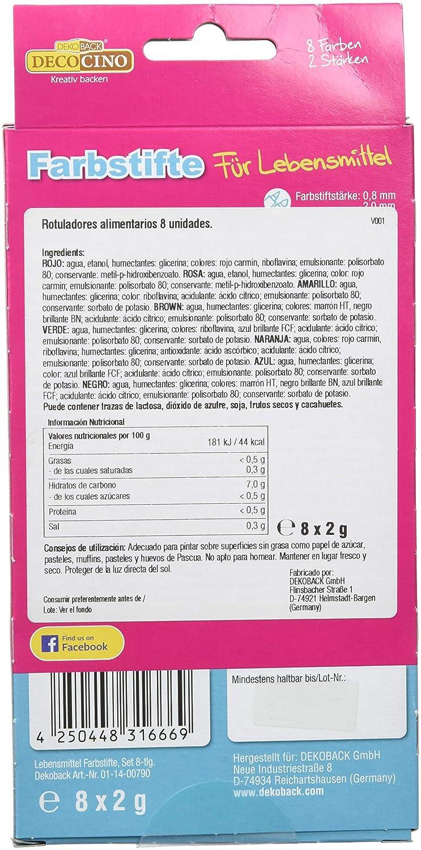 Decocino, Decoración para pastel y postre - 16 gr.: Amazon.es: Alimentación y bebidas