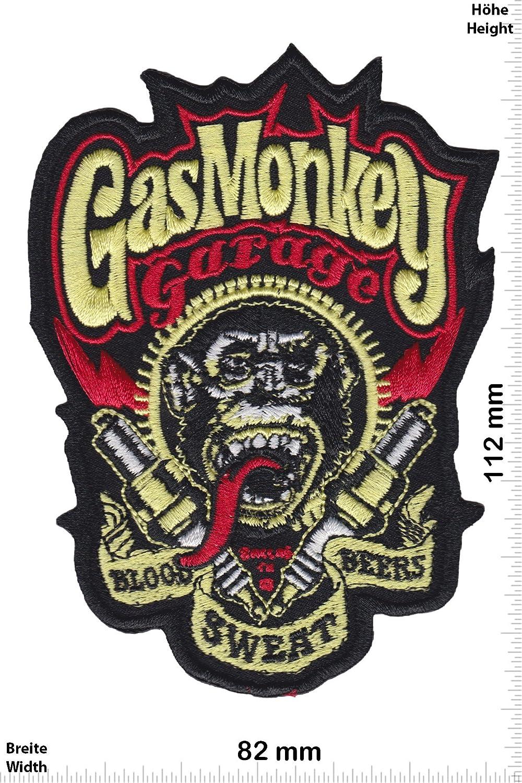 HQ Auto Auto Iron On zum aufb/ügeln Patch Gas Monkey Gas Monkey Garage Aufn/äher