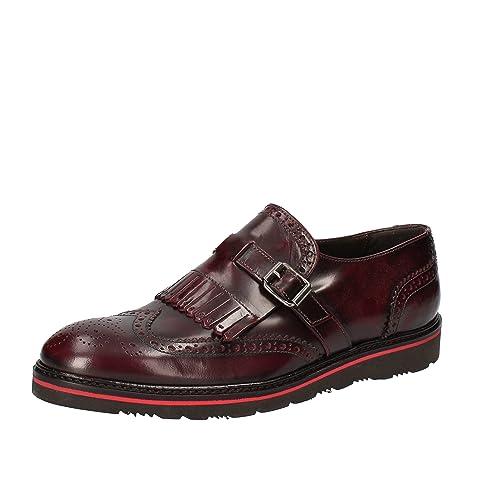 LA MAGDALEINE - Mocasines de Piel para mujer violeta burdeos violeta Size: 37,5: Amazon.es: Zapatos y complementos