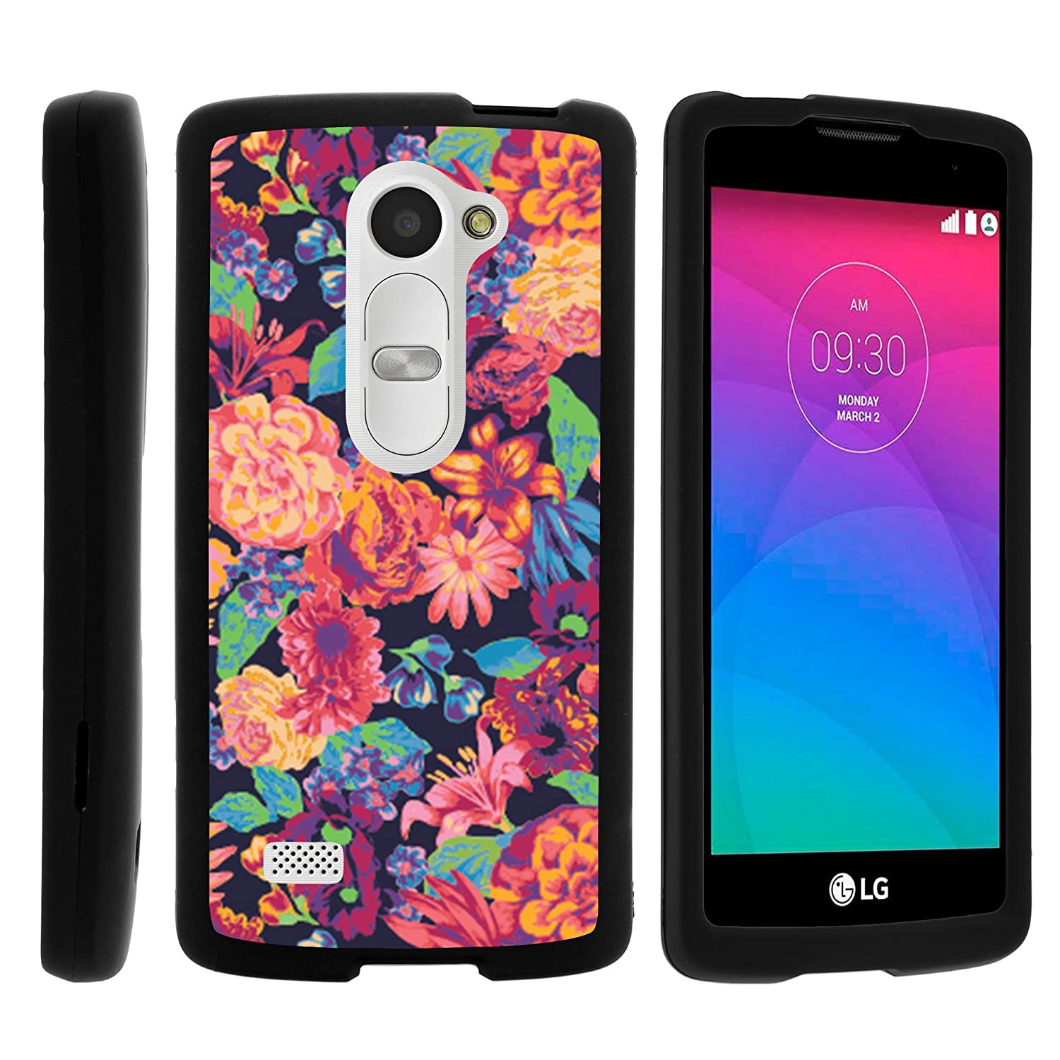 lg leon lte. amazon.com: lg leon case, stylish personalized protective snap on hard case phone protector - floral dream: cell phones \u0026 accessories lg lte