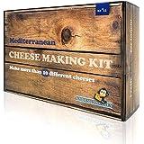 Cheese Making Kit (20 Batches) Halloumi, Feta, Mozzarella, Ricotta and 8 Other Mediterranean Cheeses