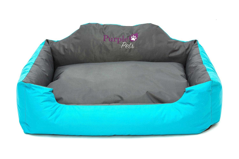 Purple-Pets Letto per Cani e Gatti Resistente allacqua Cuscino Lettino per animali domestici Cuccia Divano Facile da pulire Extra Grande, Arancia
