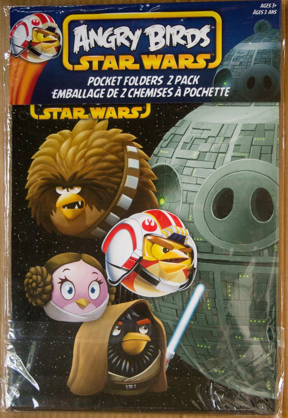 Angry Birds Star Wars Pocket Folders - 2 Pack