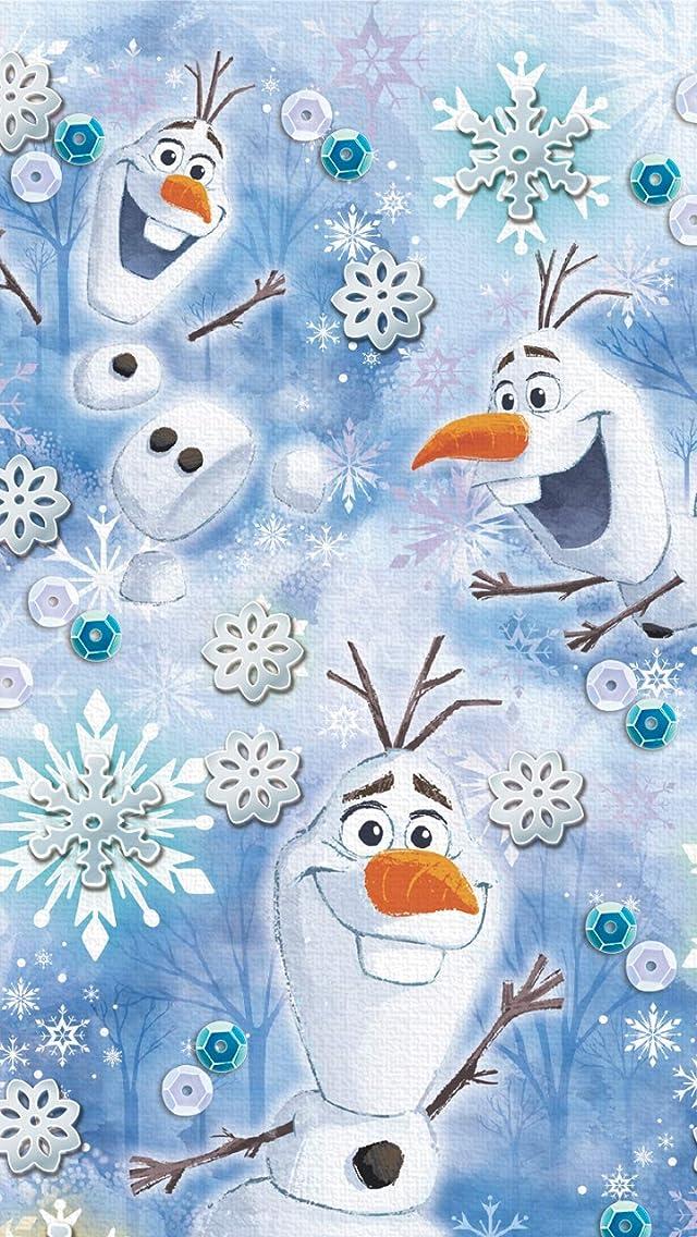 ディズニー アナと雪の女王2 (オラフ) iPhoneSE/5s/5c/5(640×1136)壁紙画像