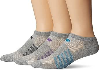 New Balance unisex-adult mens No show 6 pack sock N032-WEB-P