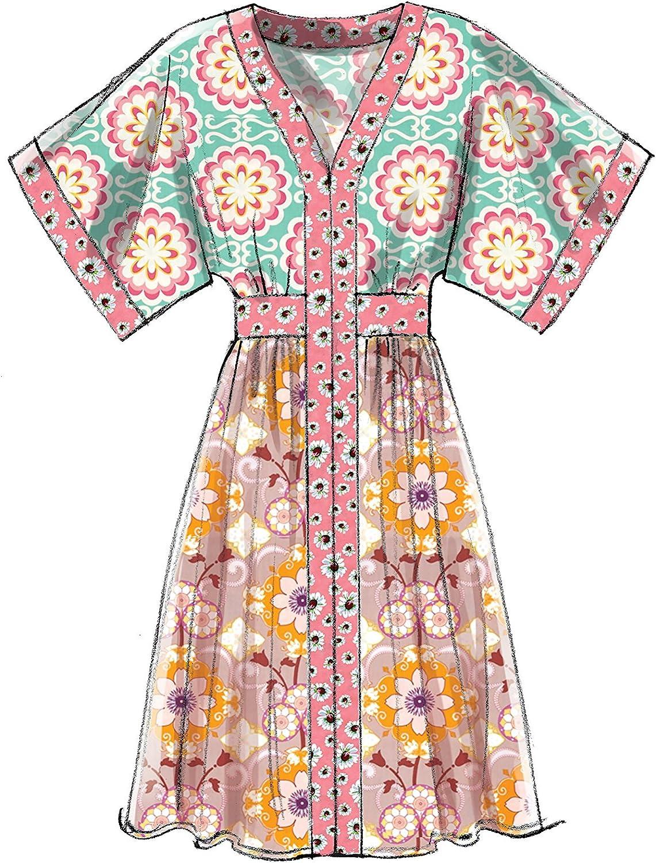 17 x 0.5 x 0.07 cm McCalls Patterns 7624 A5,Misses Dresses,Sizes 6-14 Multi//Colour Tissue