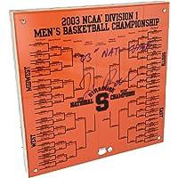 $101 » Jim Boeheim Syracuse Orange Autographed 2003 National Champions Commemorative 12x12 Carrier Dome Court Piece - Fanatics Authentic…