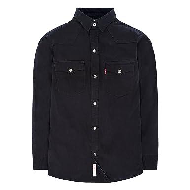 b9f947e9fd6 Amazon.com  Levi s Boys  Denim Western Shirt  Clothing