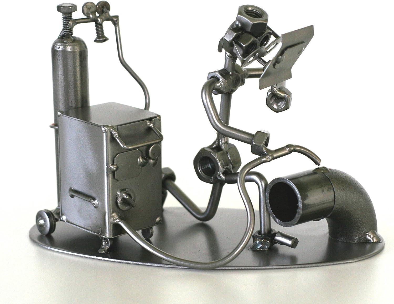 Welding Man Welding Machine Nuts And Bolts Man Steel Sculpture Metalman Perfect Gift Ideas Amazon Co Uk Kitchen Home