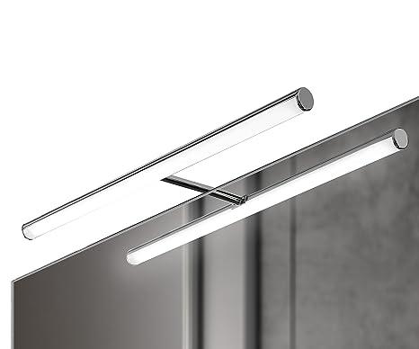 Ebir luce led per specchio bagno in alluminio irene s l mm