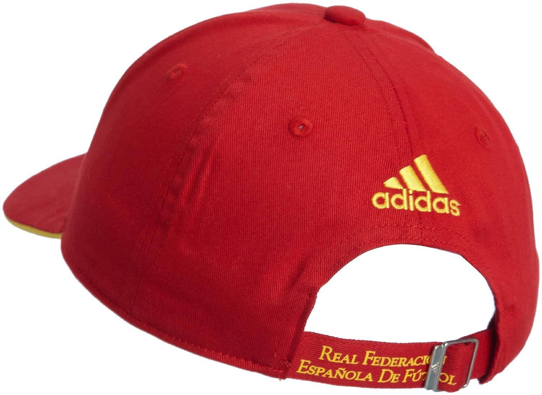 Adidas Selección Española de Fútbol - Gorra unisex, color rojo, talla única: Amazon.es: Deportes y aire libre