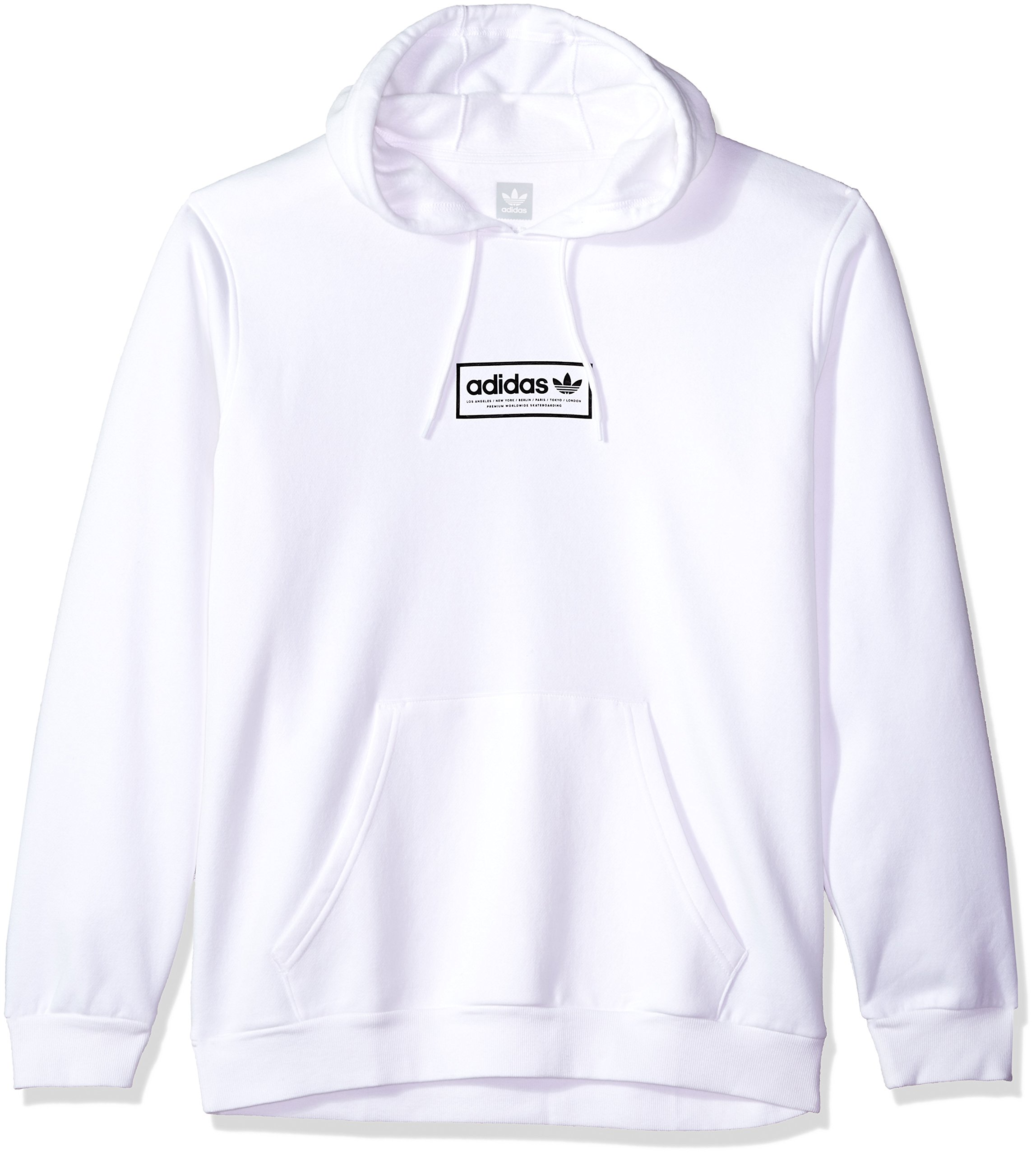 Galleon - Adidas Originals Men s Skateboarding Spell Out Hoodie ... 74b494004