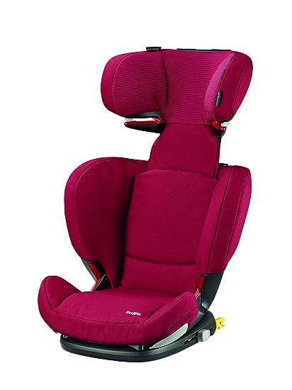 Bébé Confort RodiFix - Silla de coche, grupo 2/3, color rojo