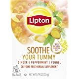 Lipton Herbal Supplement Soothe Your Tummy 15 Count