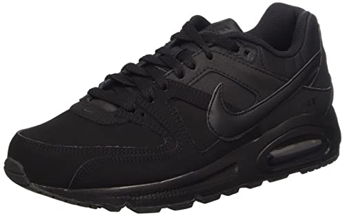 big sale skate shoes first look Nike Air Max Command Leather, Baskets Basses Homme, Noir