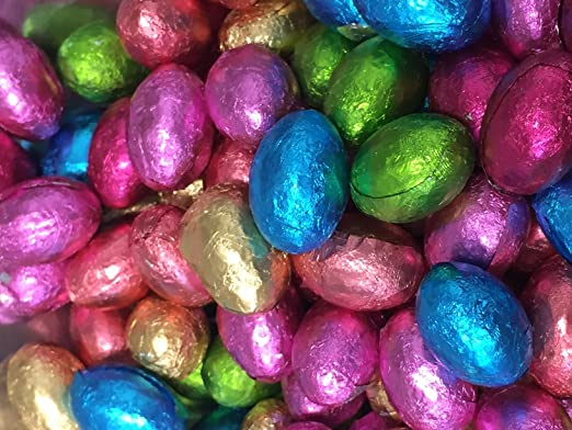 Solid milk chocolate foil easter eggs x 1kg approx 200 eggs solid milk chocolate foil easter eggs x 1kg approx 200 eggs easter egg negle Image collections