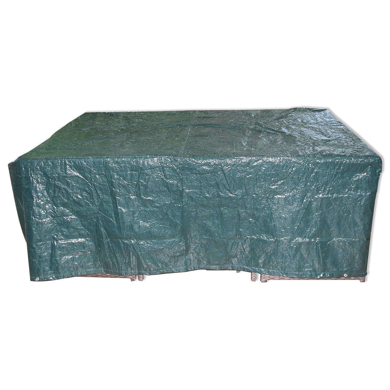 ROLLER Gartenmöbel-Abdeckung - grün - Kunststoff - 205 cm breit ...