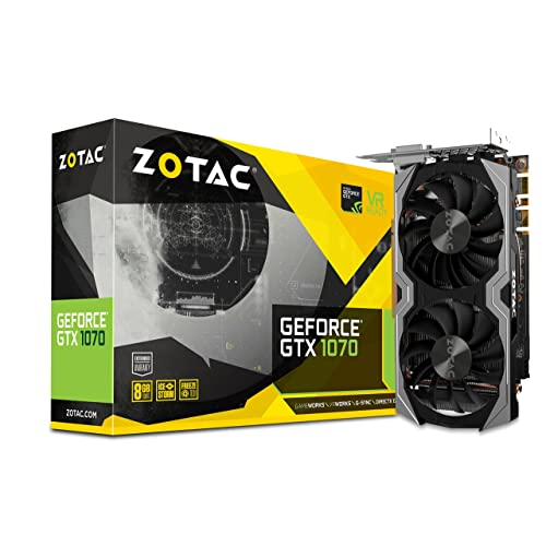 Zotac NVIDIA GeForce GTX 1070 8 GB Mini Graphics Card - Black
