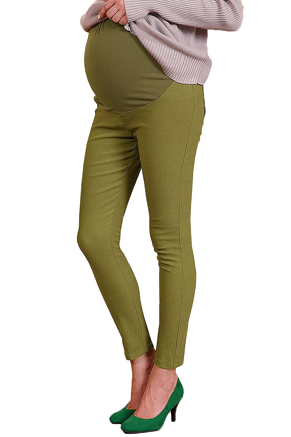 Sweet Mommy Raised Stretchy Maternity Skinny Pants Sweet Mommy Co. Ltd. sp4084
