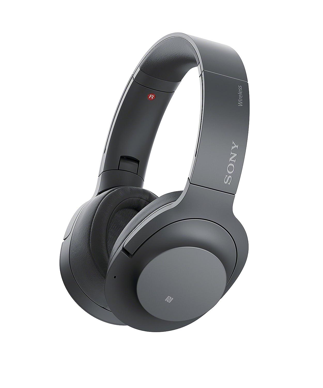 Sony - H900N Hi-Res Noise Cancelling Wireless Headphone Grayish Black(WHH900N/B)