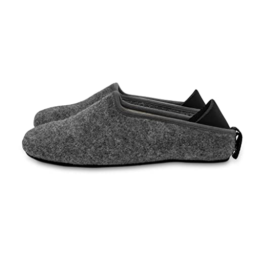 mahabis Larvik Dark Grey Summer Zapatillas con Suela Skien Black EN Talla 41 EU