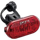 【正規輸入品】 CATEYE(キャットアイ) LEDテールライト TL-LD135-R ブラック